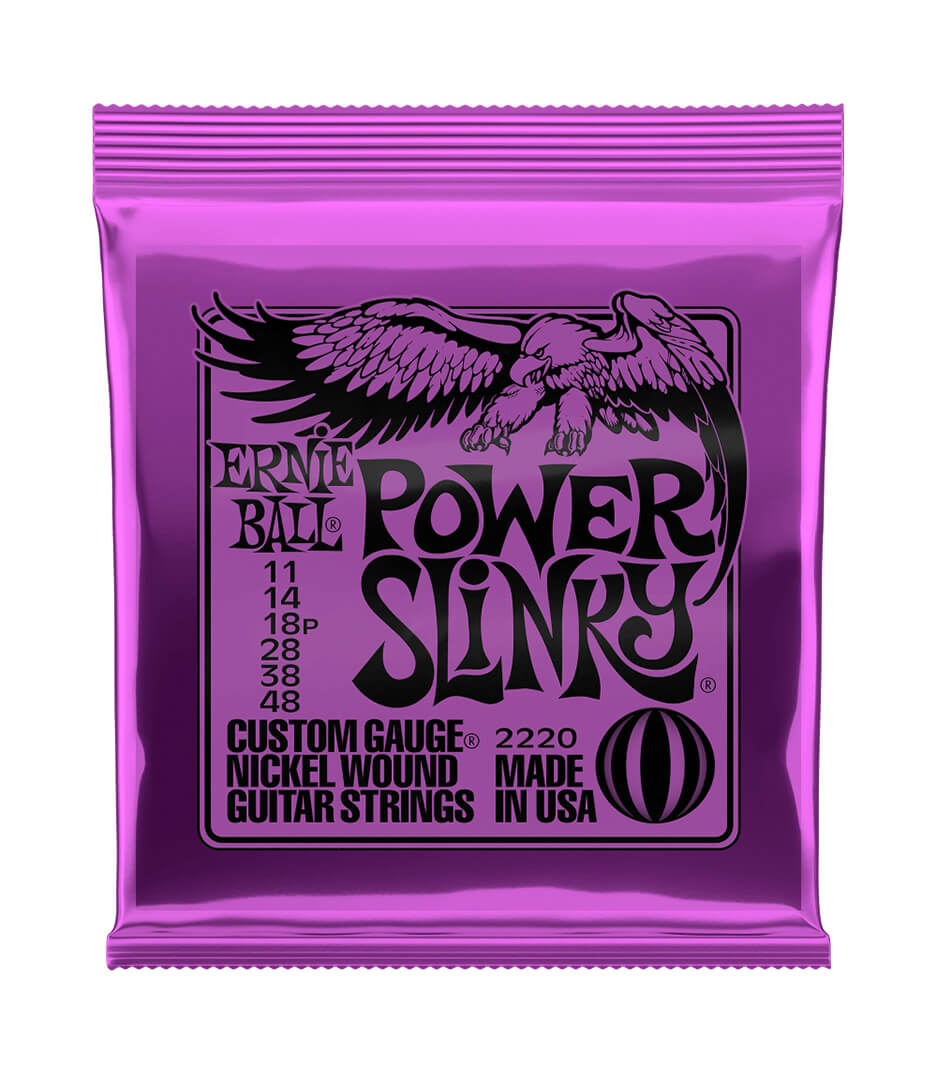 Ernie Ball - 2220EB Electric Guitar Strings Power Slinky Nickel
