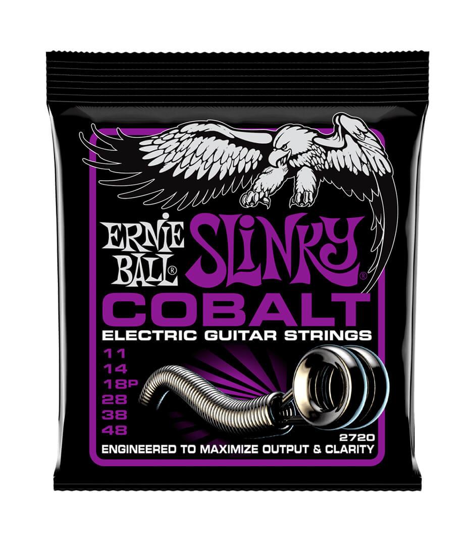 Ernie Ball - 2720 Electric Guitar Strings Slinky Cobalt 11  48