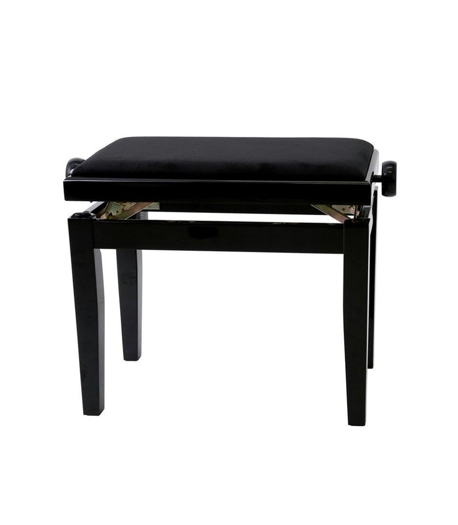 buy gewa piano bench deluxe black high gloss