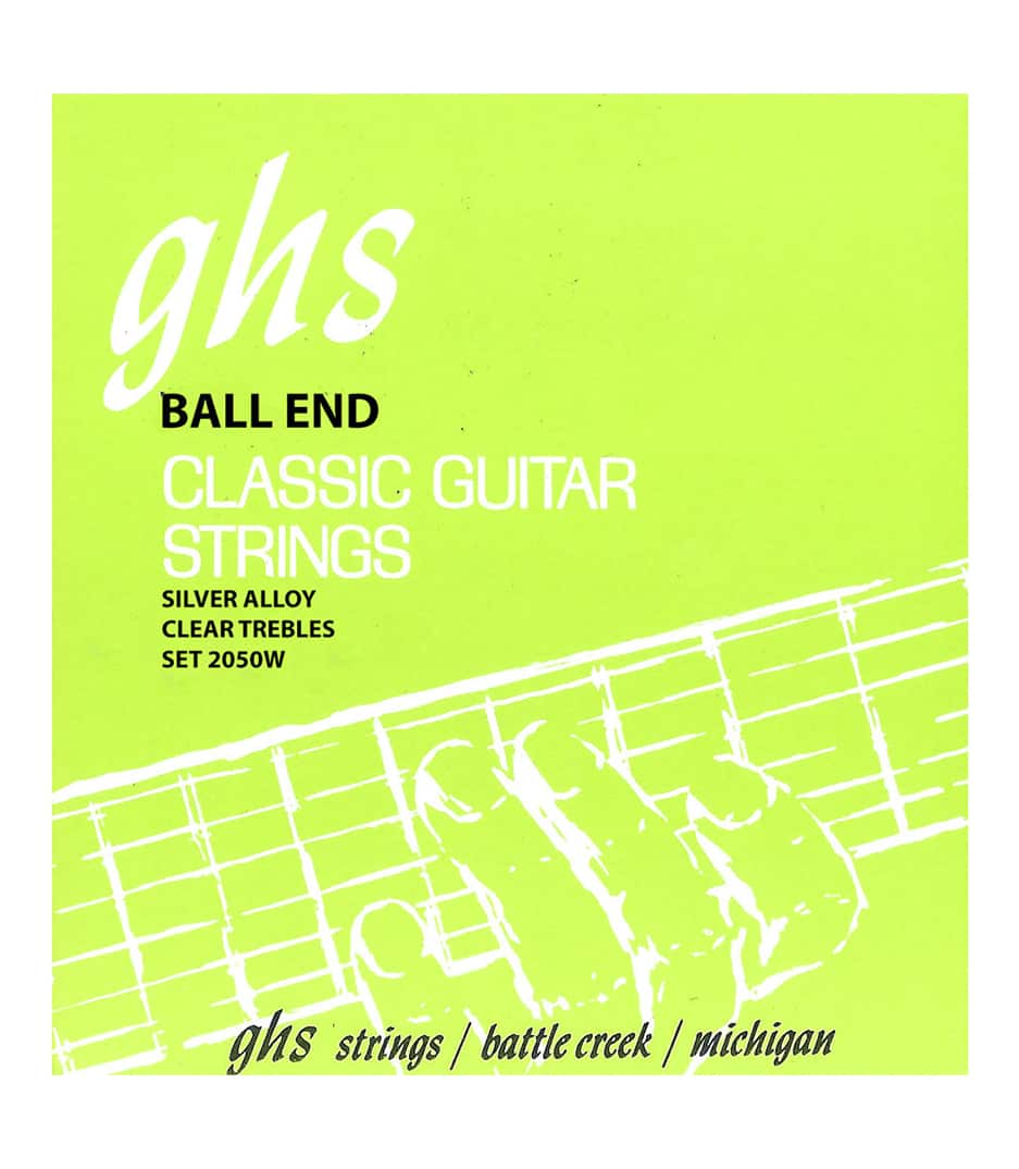 GHS - 2050W Hard Tension Ball End Regular Classic Guitar - Melody House Musical Instruments