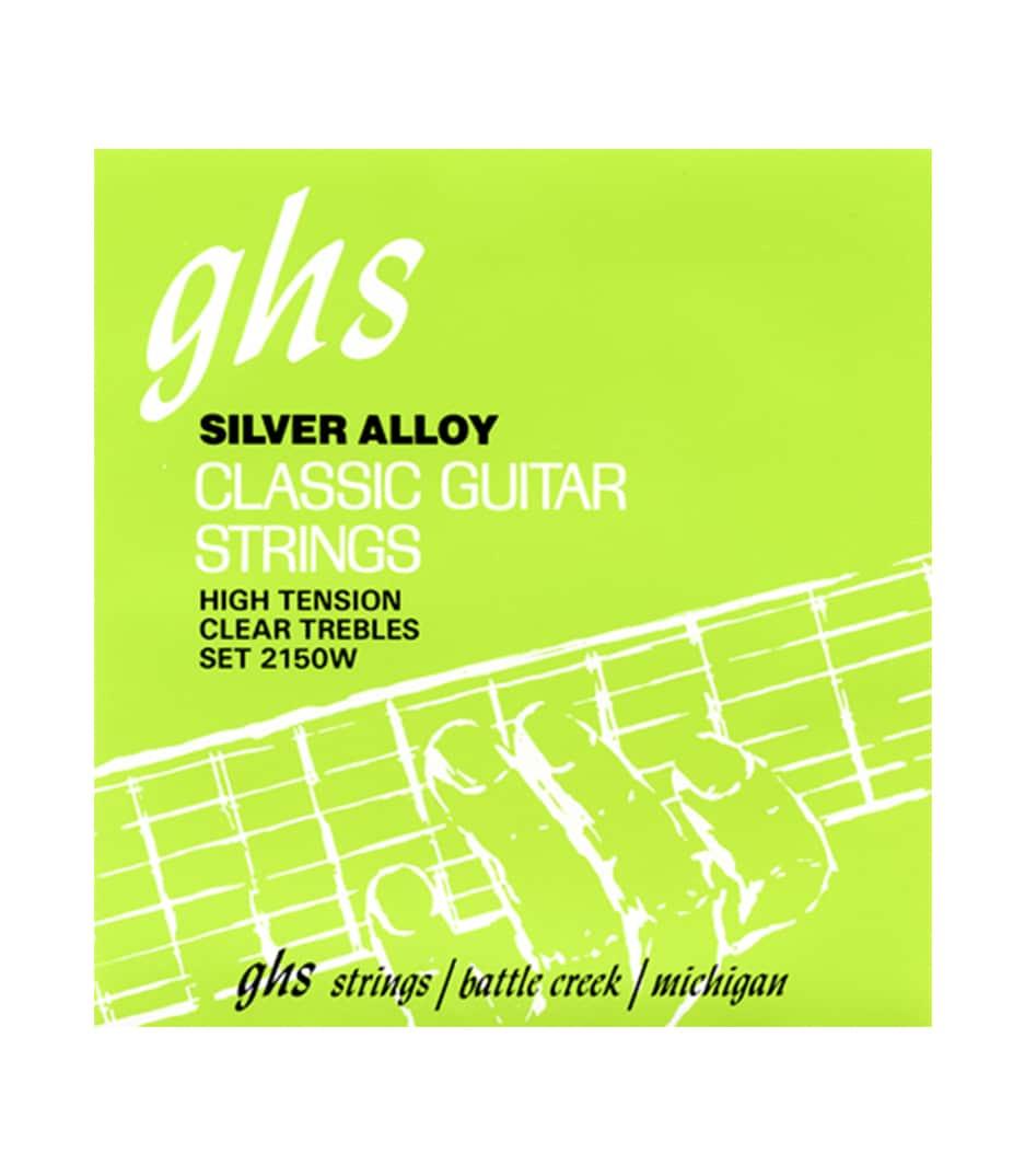 buy ghs 2150w hard tension tie end regular classic guitar
