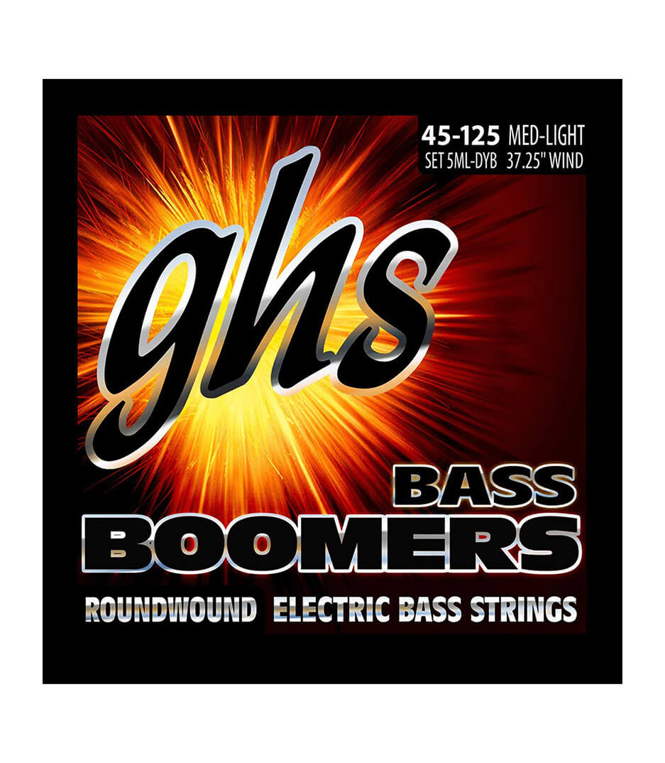 GHS - 5ML DYB BASS 5 STR BOOM MEDIUM LIGHT