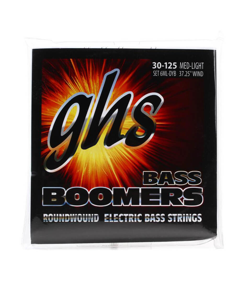 GHS - 6ML DYB BASS 6 STR BOOM MEDIUM LIGHT