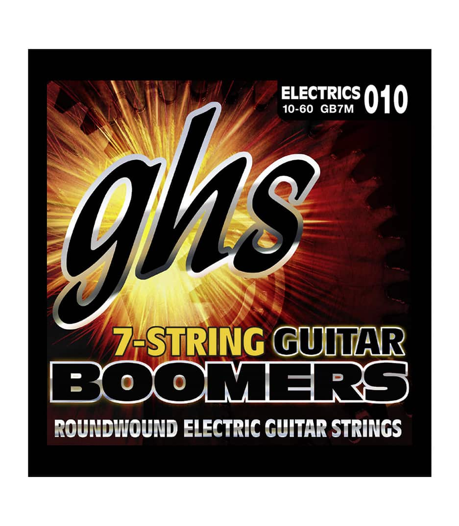 GHS - GB7M 7 STRING BOOMER MEDIUM - Melody House Musical Instruments