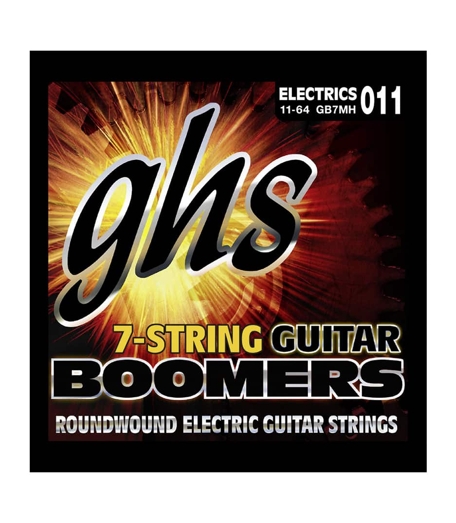 Buy GHS - GB7MH 7 STRING BOOMER MEDIUM HEAVY