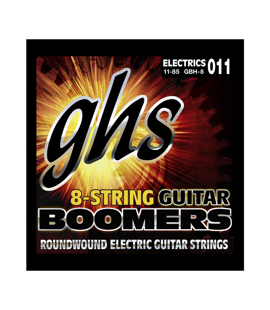 Buy GHS - GBH 8 8 STRING BOOMER HEAVY