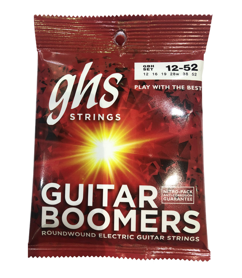 GHS - GBH EL GTR BOOMER HEAVY 012 - Melody House Musical Instruments