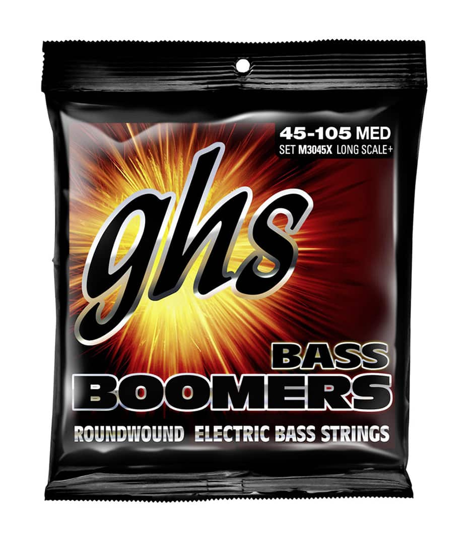 GHS - M3045X BASS BOOM LONG MEDIUM