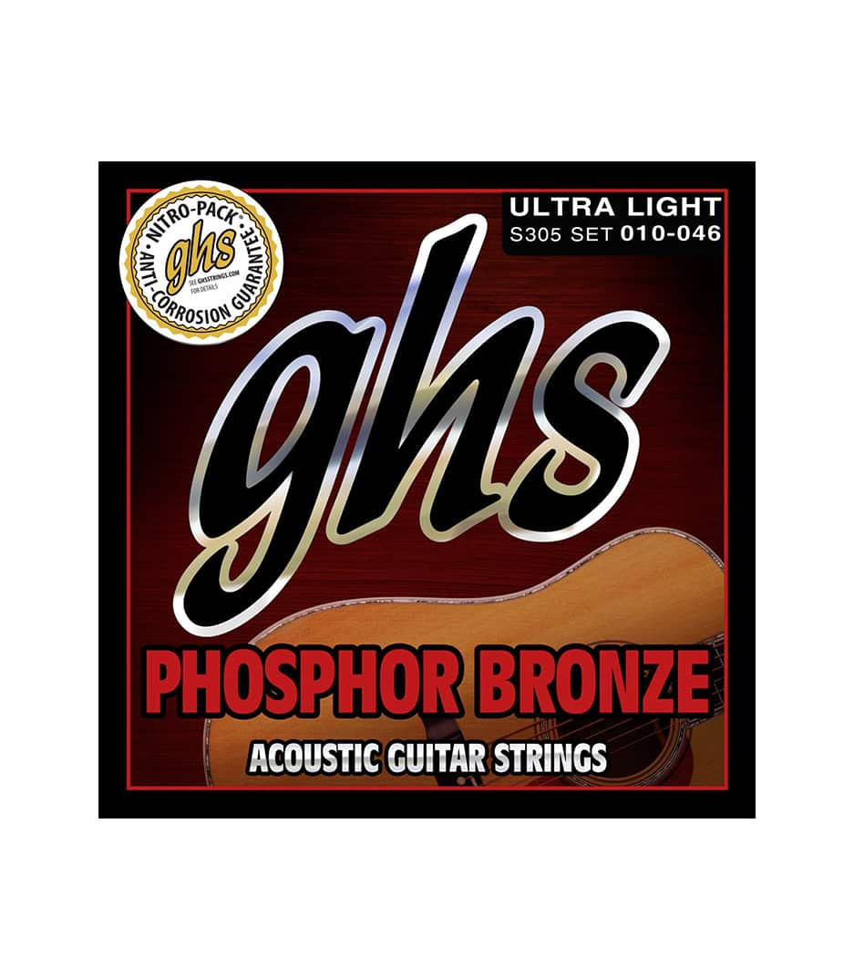 GHS - S305 AC GTR PHOS BRNZ UL - Melody House Musical Instruments