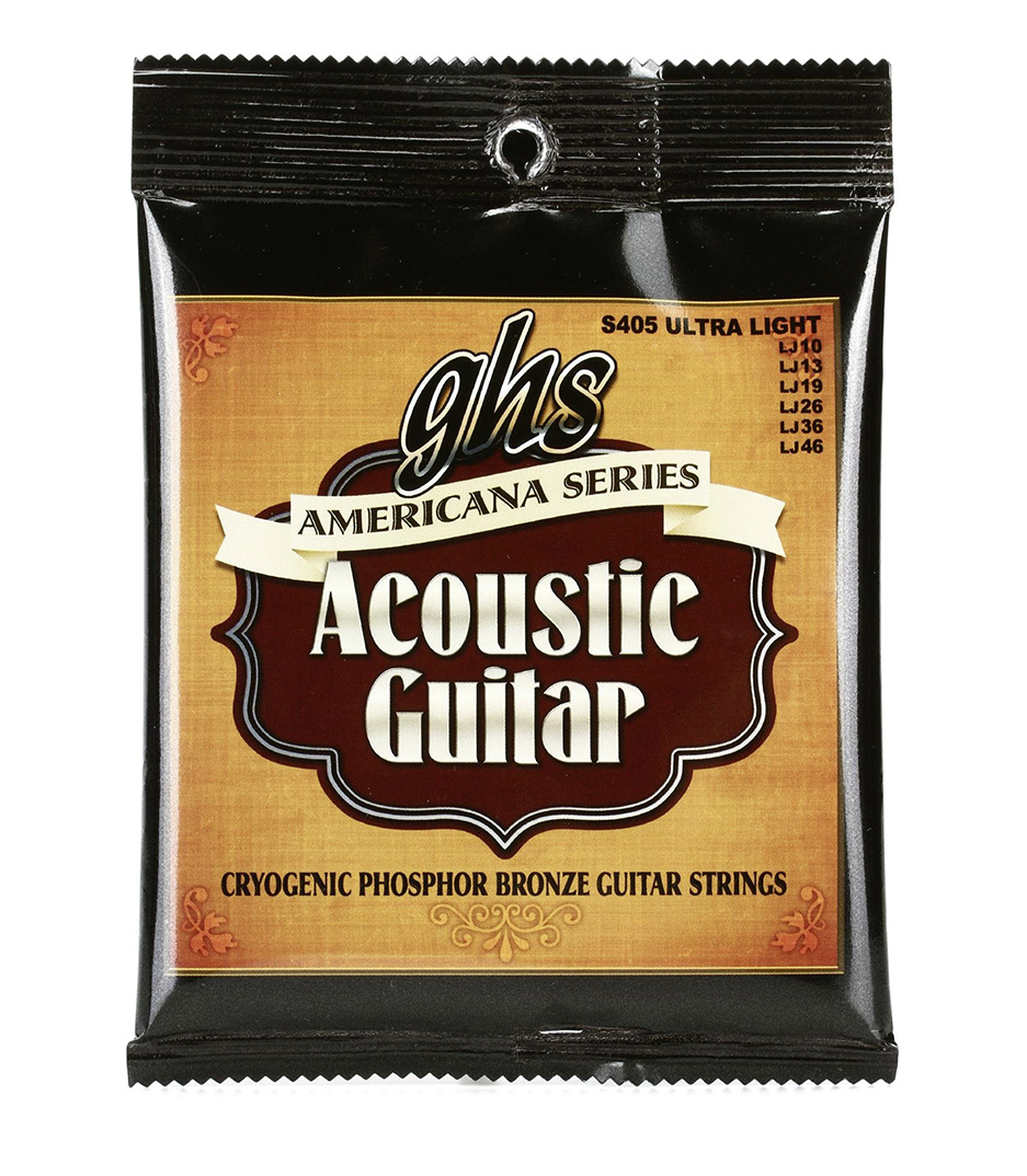 GHS - S405 Acoustic Guitar String Americana Series Phosp - Melody House Musical Instruments