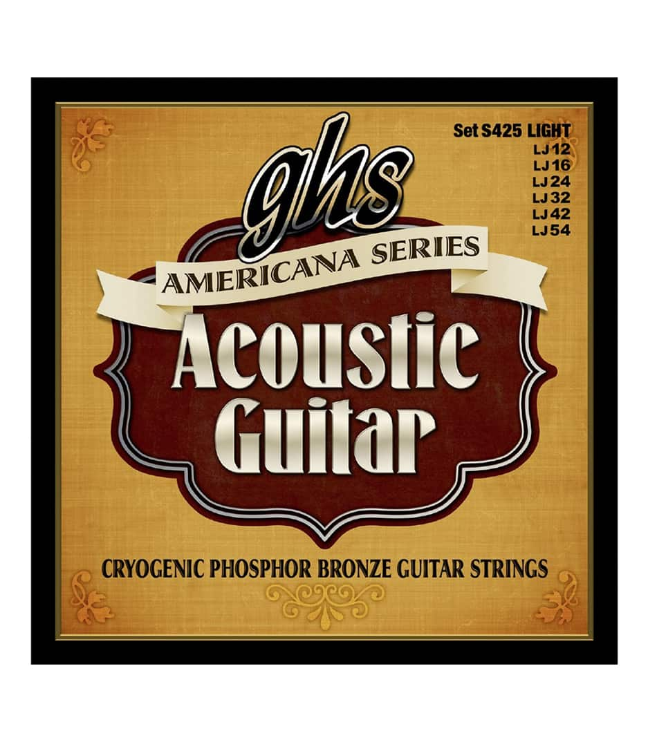 Buy GHS - S425 AMERICANA ACOUSTIC GUITAR LIGHT