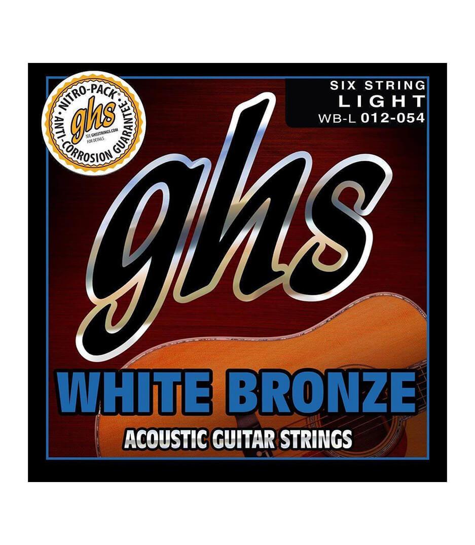 Buy GHS - WB L AC GTR WHT BRNZ STD LT