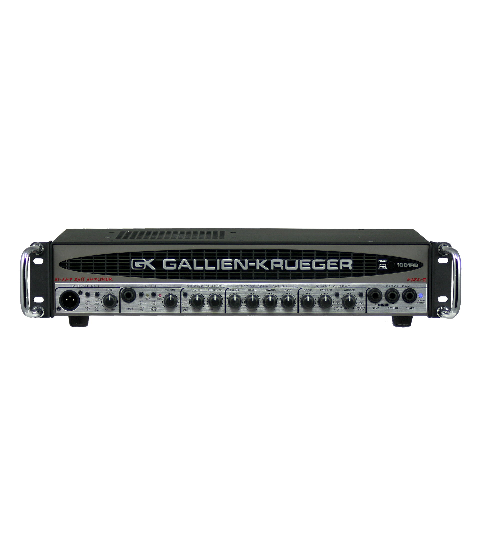 Buy gk RB 700 50 Watt 4 Ohm Bi Amp Sollid State Bass Head Melody House