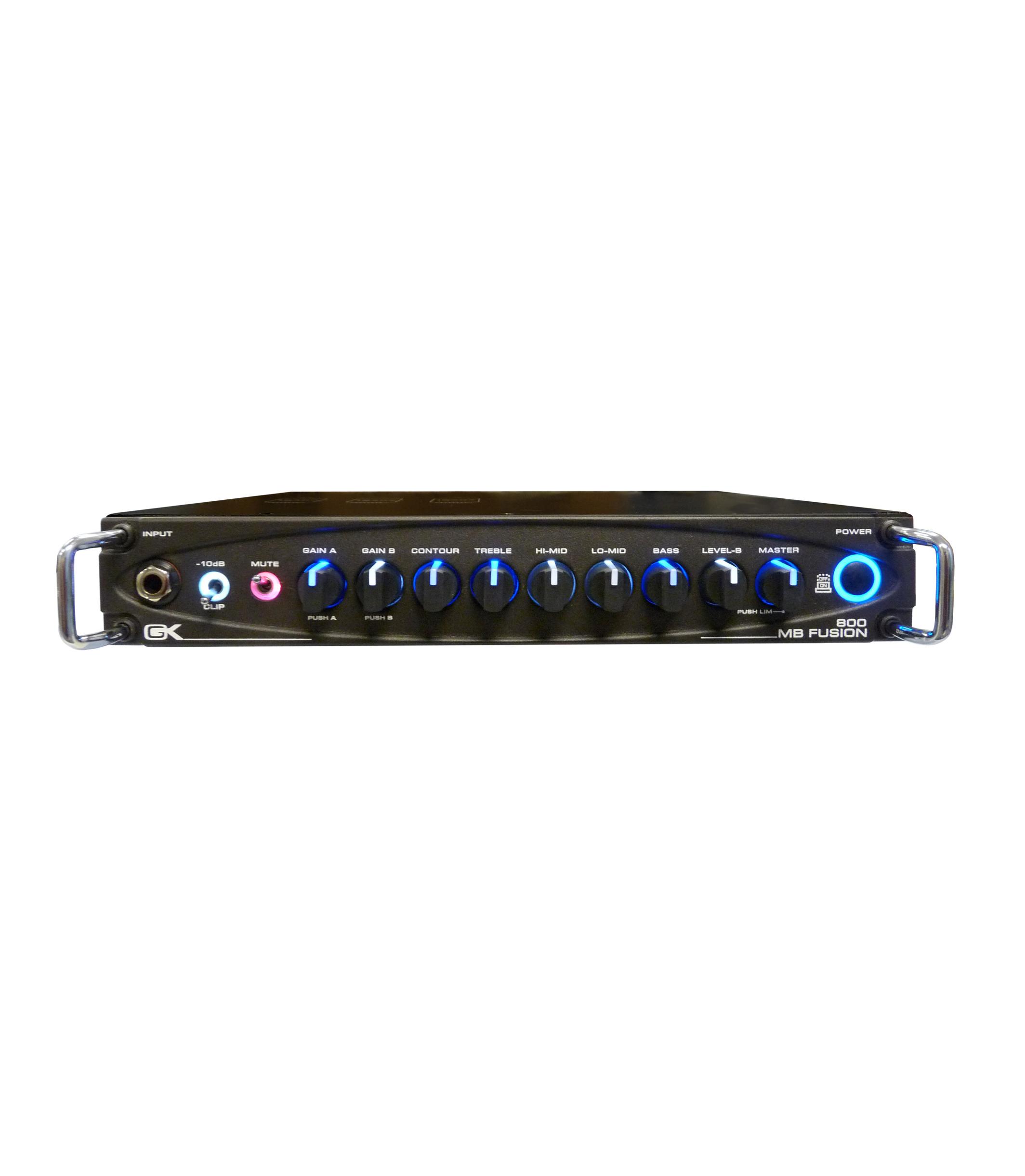 buy gk mb fusion 800 watt tube hybrid bass head