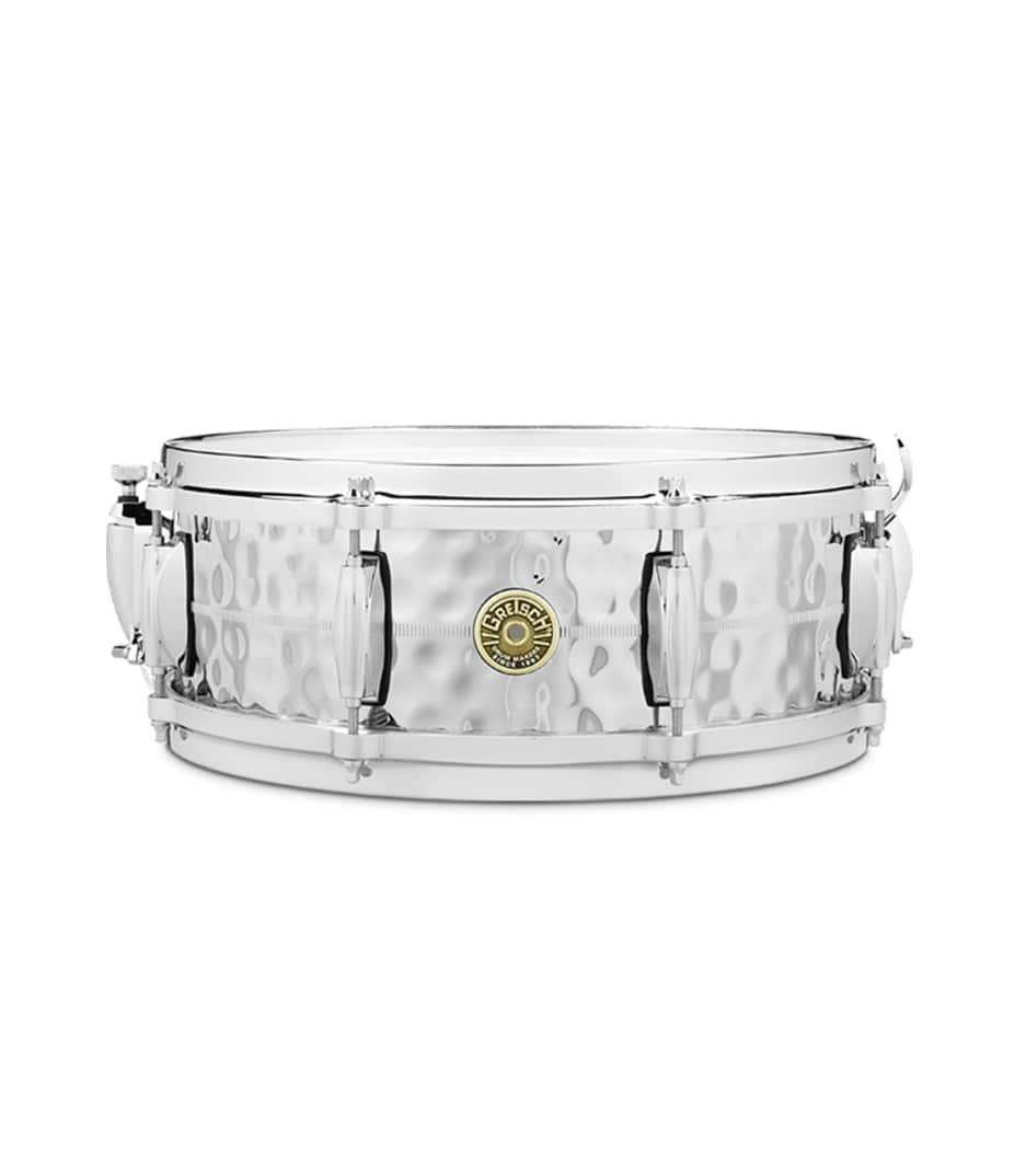 buy gretsch g4160hb 5x14 hammered chrome over brass