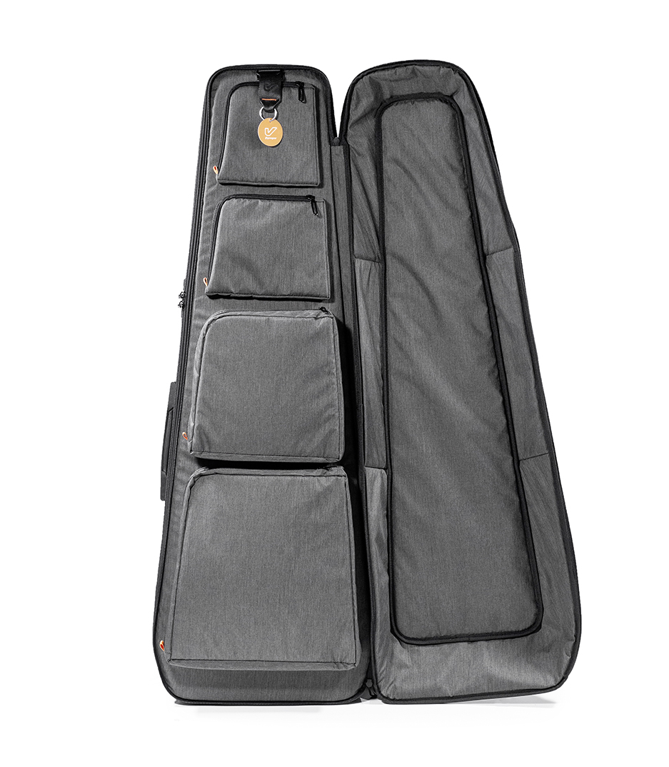 KAPSULE EG BLK WORLD S MOST ADVANCED GUITAR BAG - KAPSULE-EG-BLK - Melody House Dubai, UAE