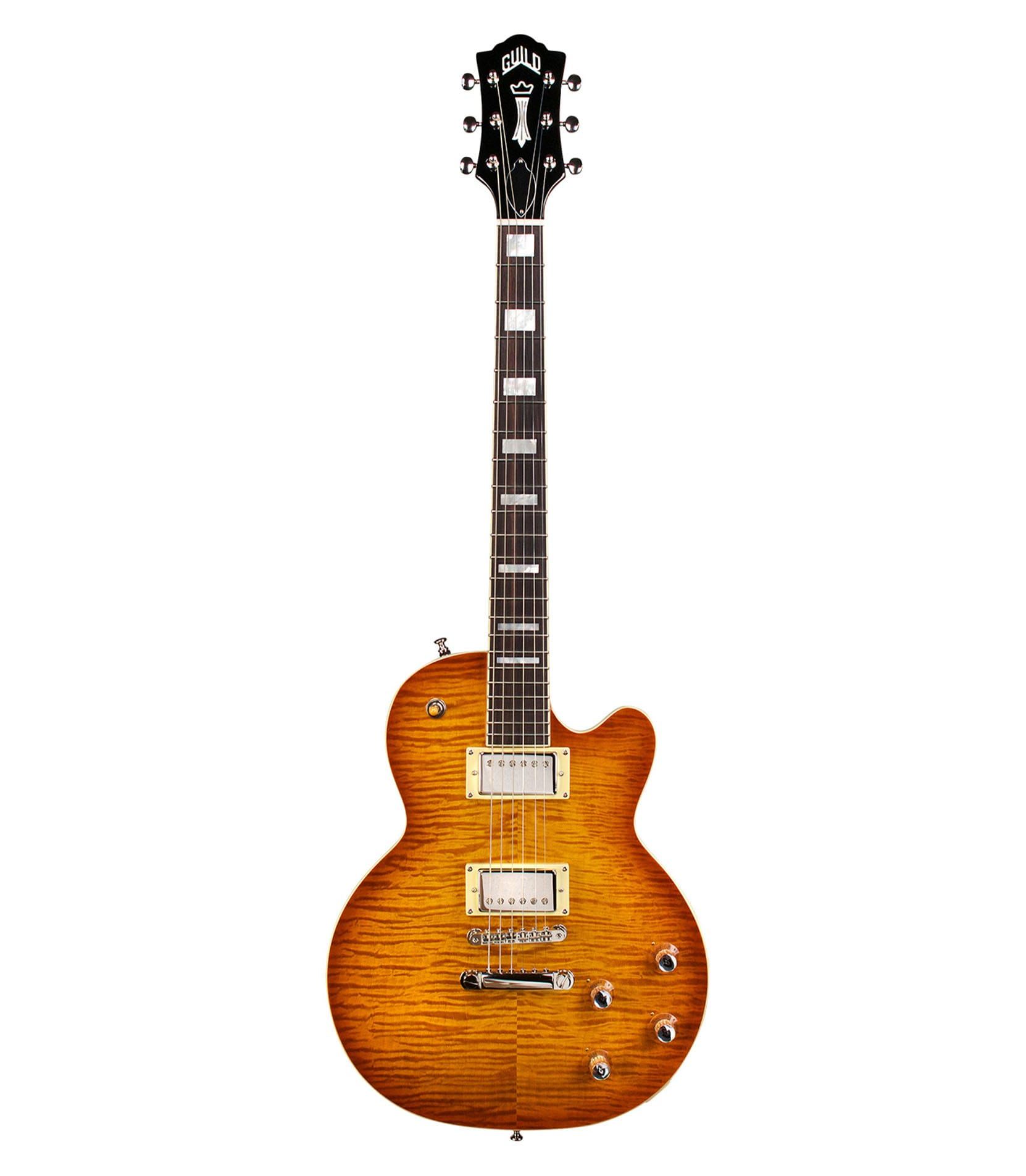 Guild - Bluesbird Guitar Iced Tea Burst Finish