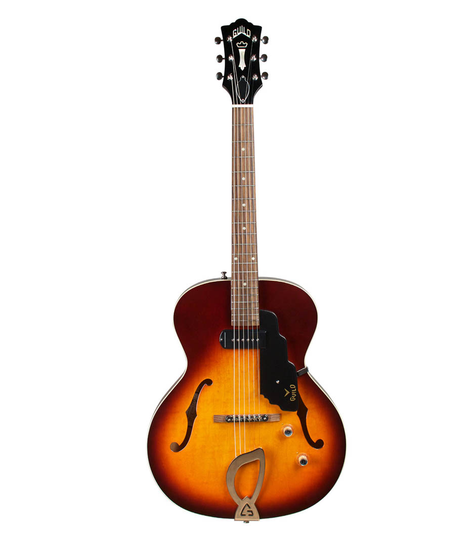 Guild - T50 Slim Hollow Body Vintage Sunburst Finish