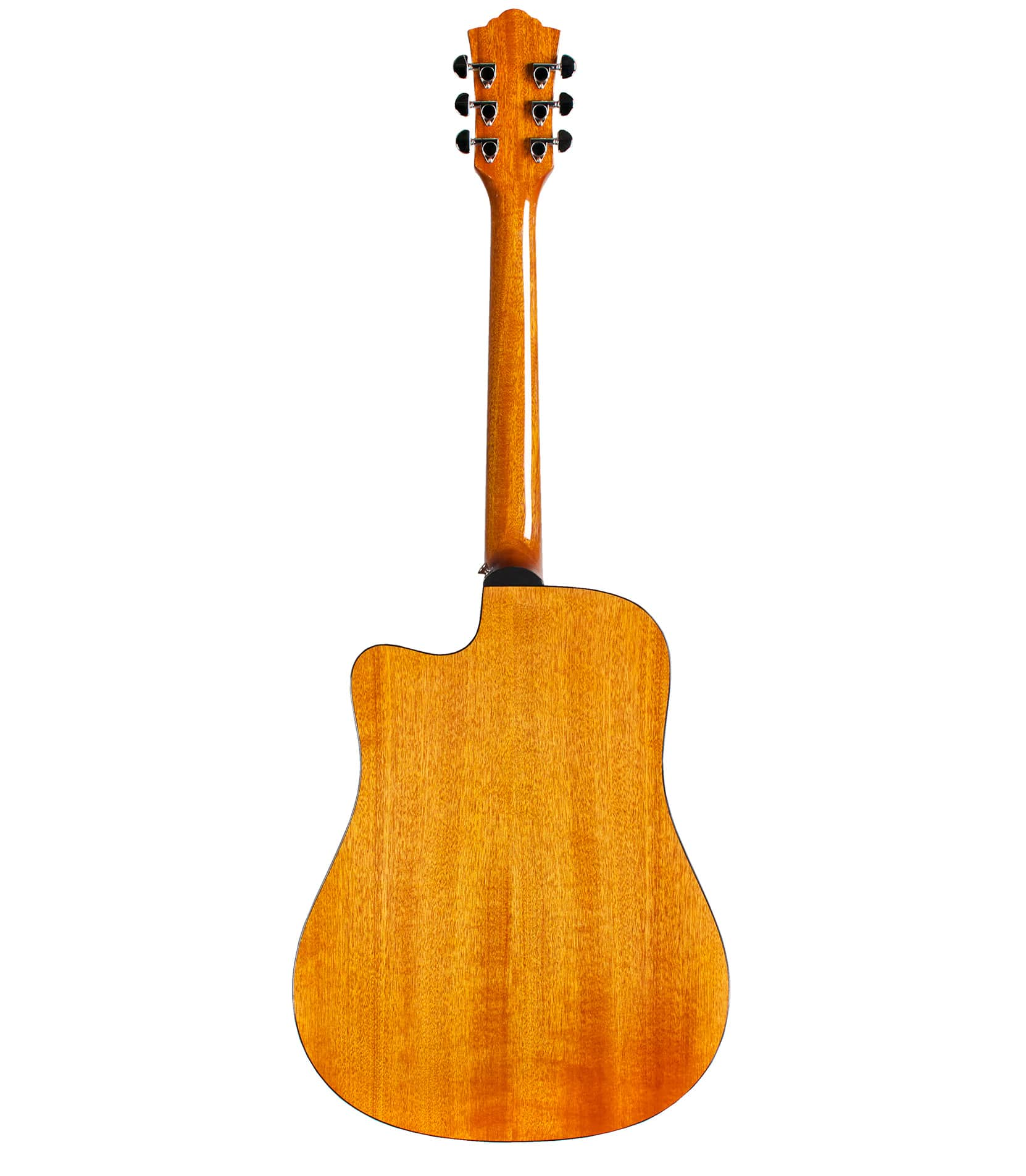 Guild - D120NCE Dreadnought Cutaway Acoustic Natural Finis - Melody House