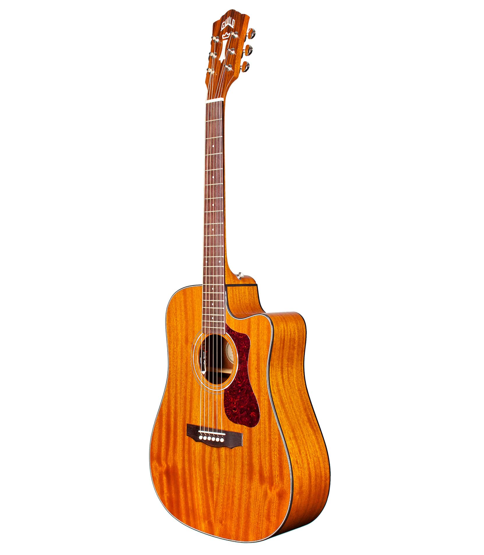 Melody House Musical Instruments Store - D120NCE Dreadnought Cutaway Acoustic Natural Finis