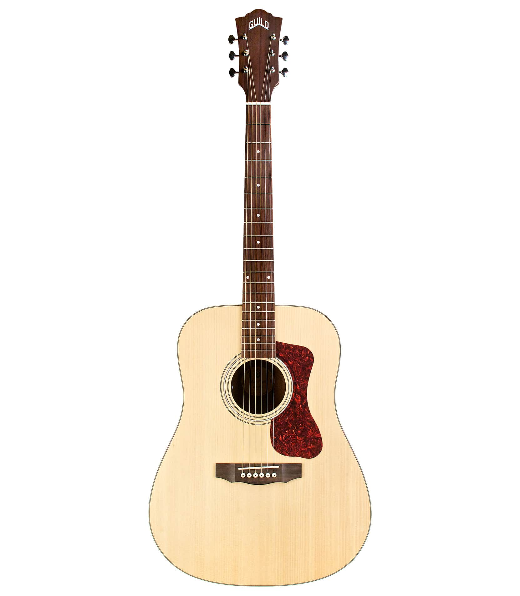 Buy Guild - D240E Dreadnought Flammed Maple Acoustic Electro