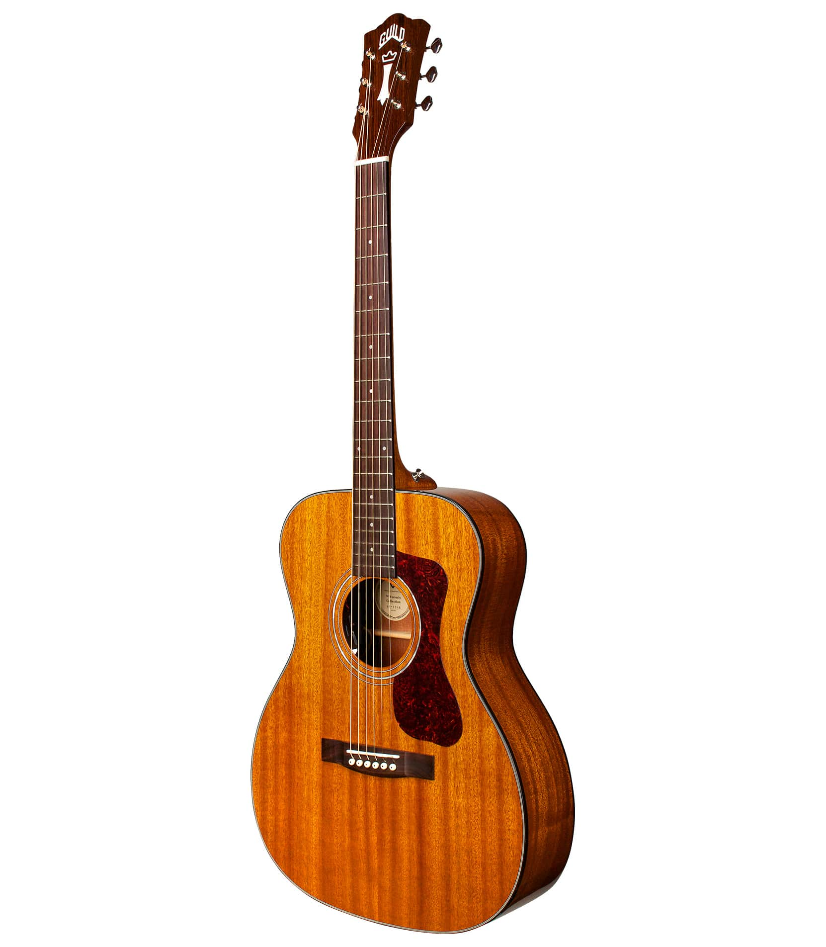 Melody House Musical Instruments Store - OM120 Orchestra Acoustic Guitar Natural Finish