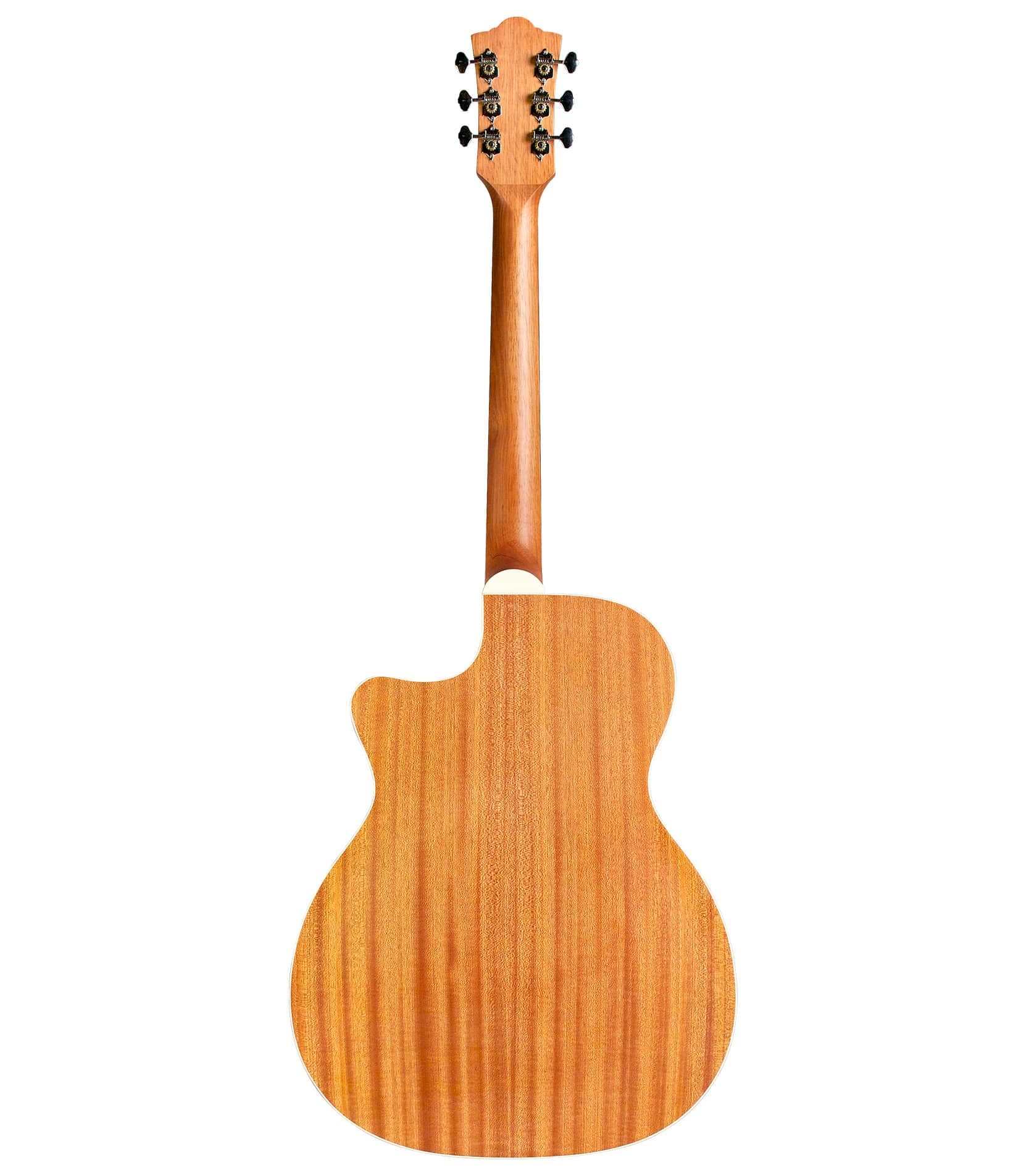 guild - OM240CE Orchestra Cutaway Acoustic Natural Finish - Melody House