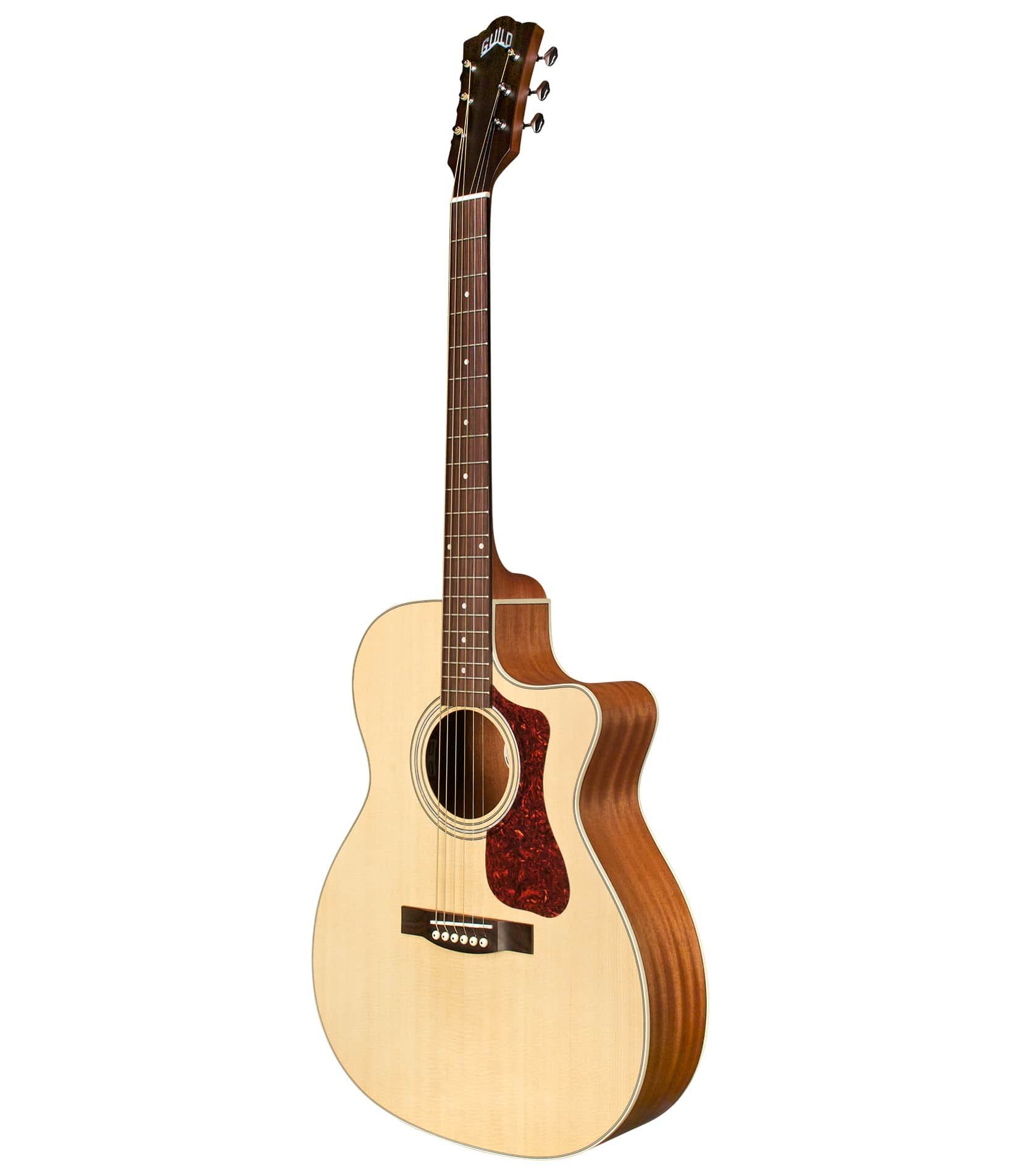 Melody House Musical Instruments Store - OM240CE Orchestra Cutaway Acoustic Natural Finish