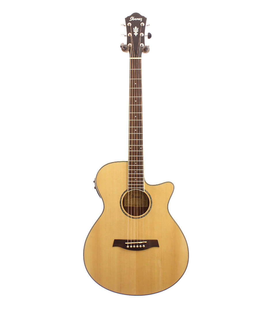buy ibanez aeg10ii nat aeg10 acoustic electric guitar natural