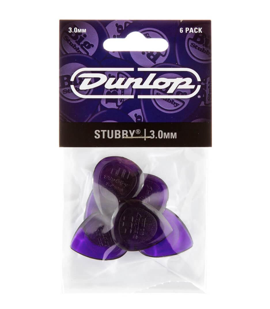 Dunlop - 474P3 0 STUBBY JAZZ 6 PLYPK