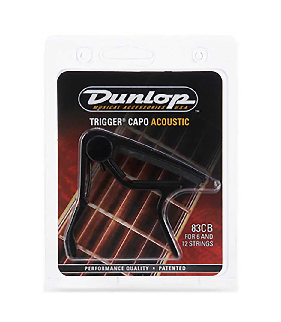Buy Dunlop - 83CB Trigger Acoustic Capo Black