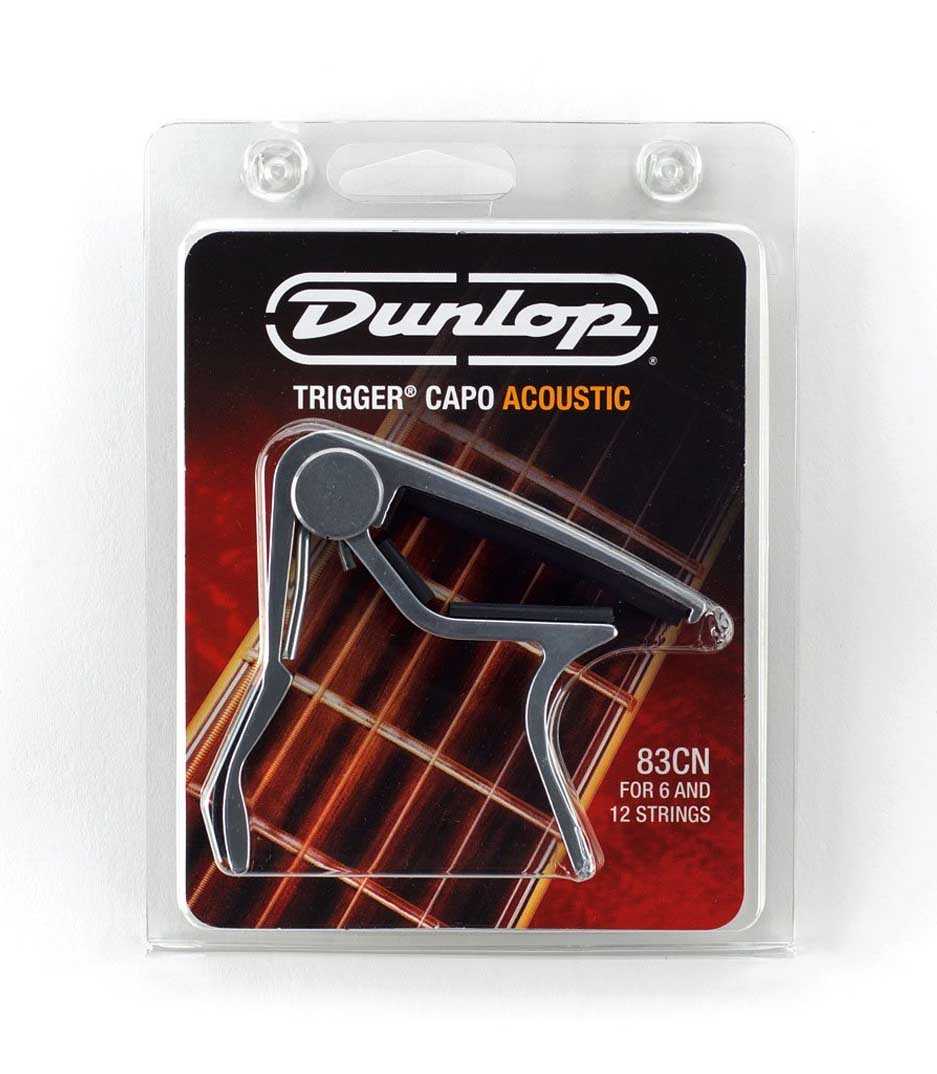 Dunlop - 83CN Trigger Acoustic Capo Nickel - Melody House Musical Instruments