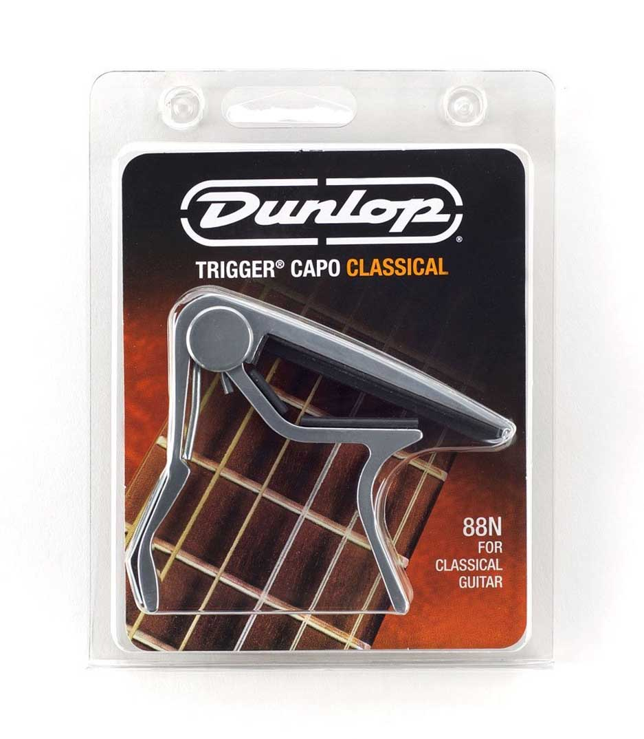 Dunlop - 88N Trigger Classical Guitar Capo Nickel