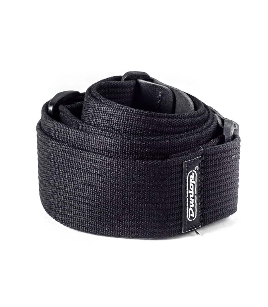Dunlop - RIBBED COTTON STRAP BLACK