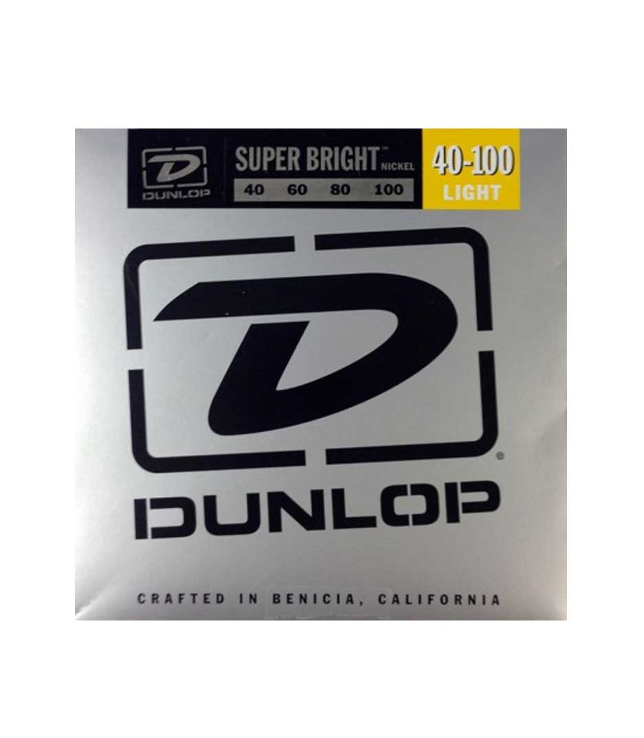 Buy dunlop - DBSBN40100 BASS NKL SB LT 4 SET