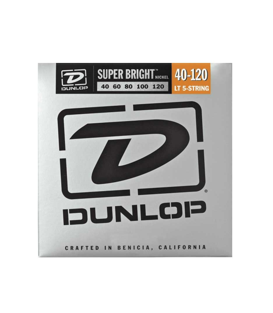 buy dunlop dbsbn40120 bass nkl sb lt 5 st