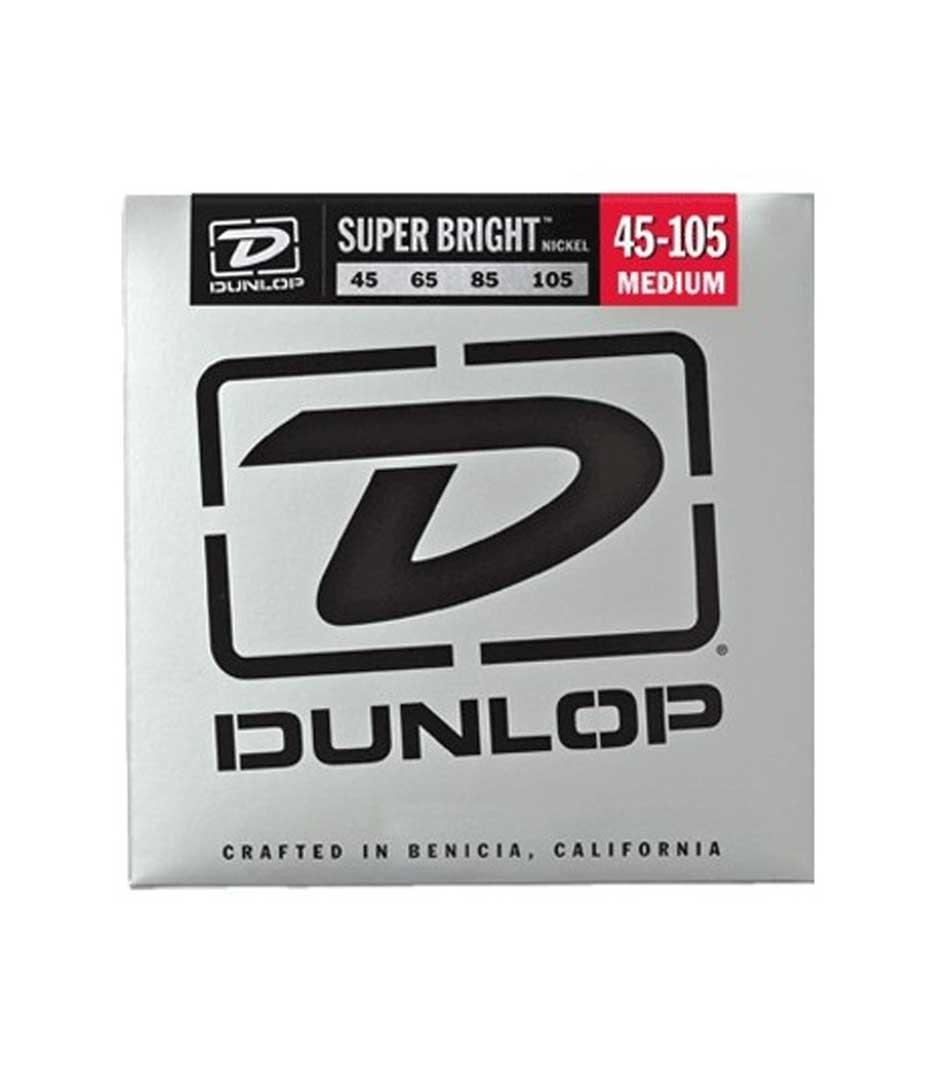 buy dunlop dbsbn45105 bass nkl sb md 4 set
