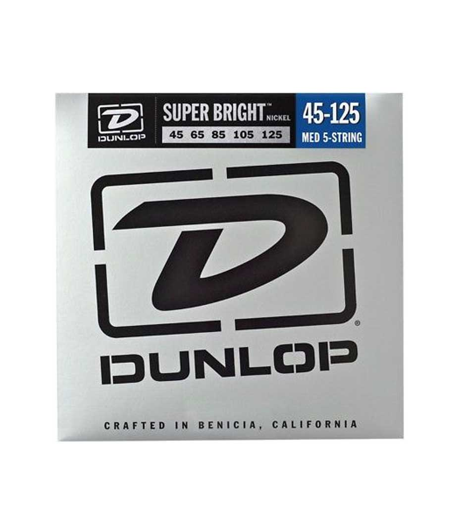 buy dunlop dbsbn45125 bass nkl sb md 5 set