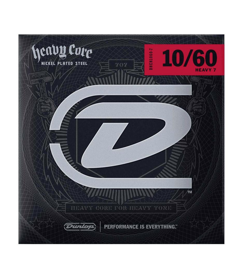 buy dunlop dhcn1060 7 heavy core 7 set