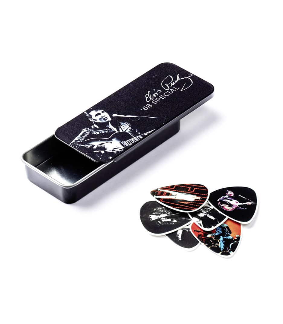 Buy dunlop ELVIS PICK TIN 68 SPECIAL Melody House