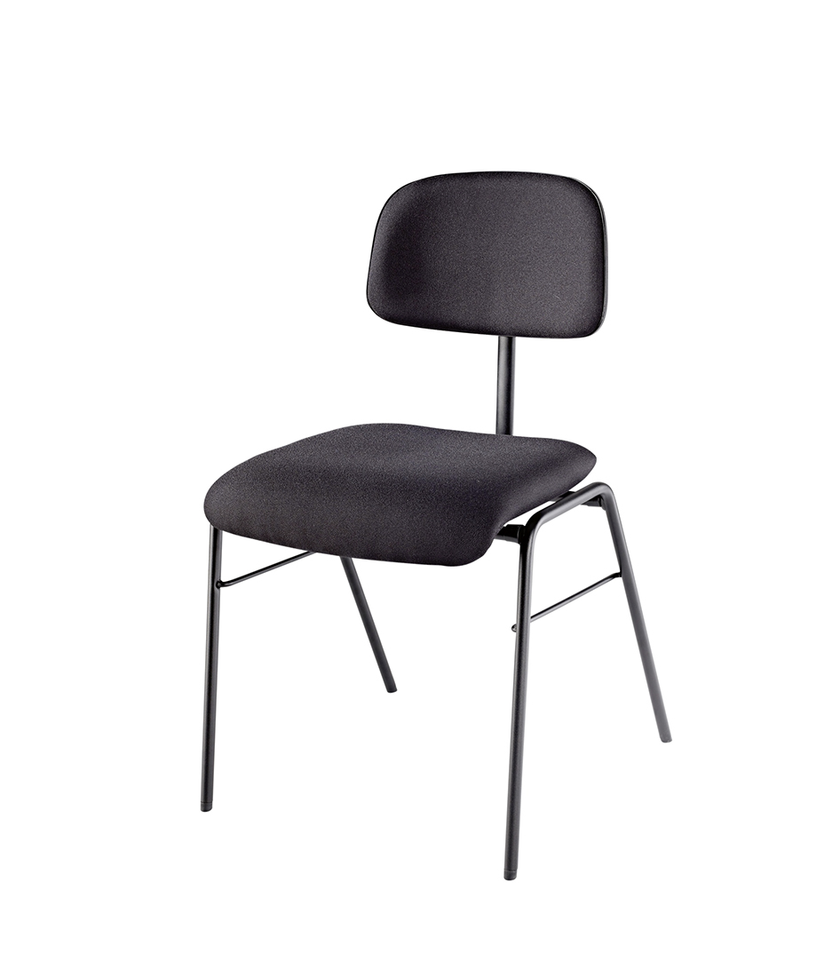 buy k&m professional orchestra chair with upholstered seat