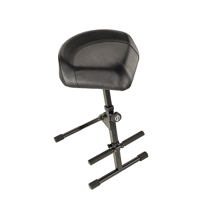 Black Imitation leather Stool - 14045-000-55 - Melody House Dubai, UAE