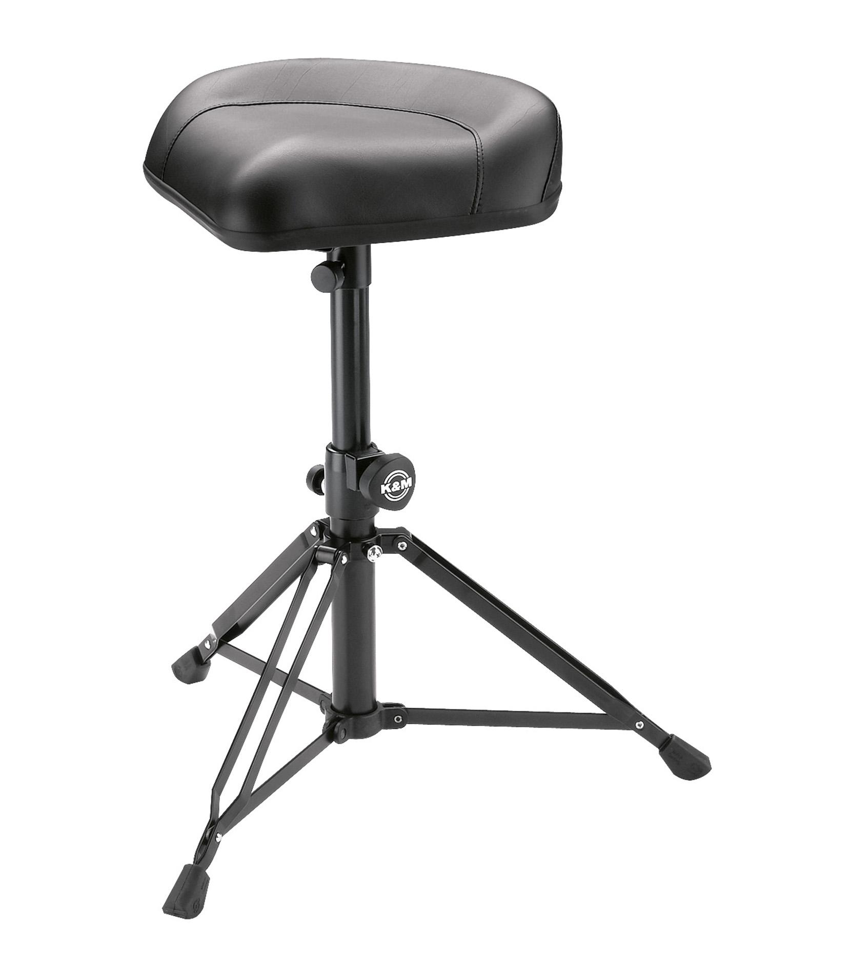 Buy K&M - 14055 000 55 Drummers throne Nick black leather