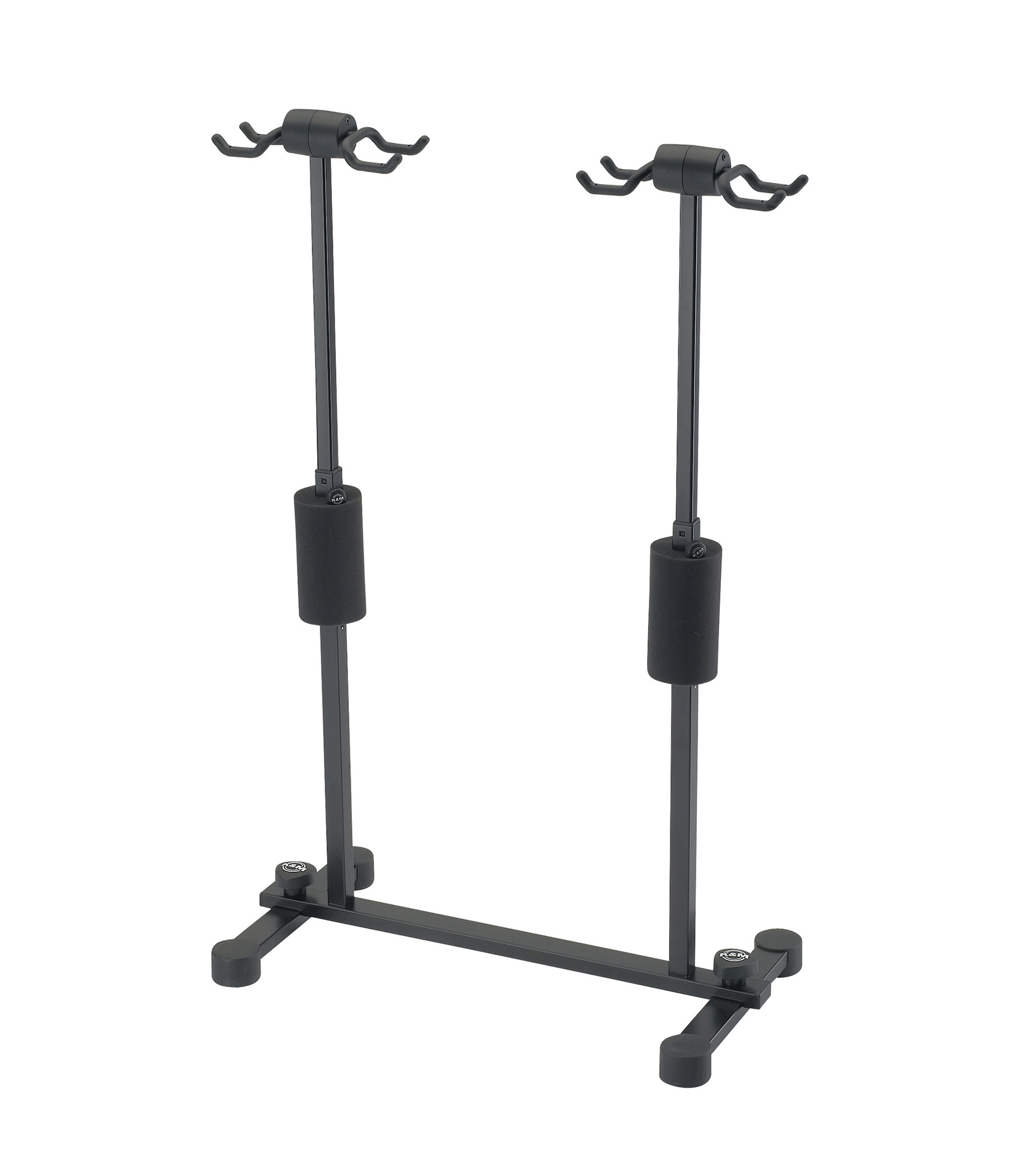 K&M - 17604 000 55 Four Guitar Stand Roadie Black