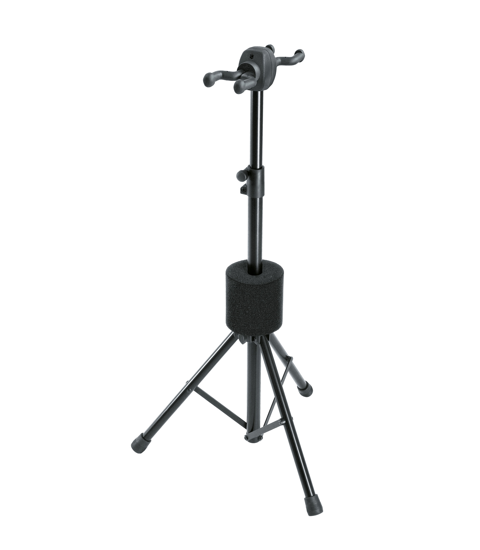 buy k&m 17620 000 55 guitar stand double black