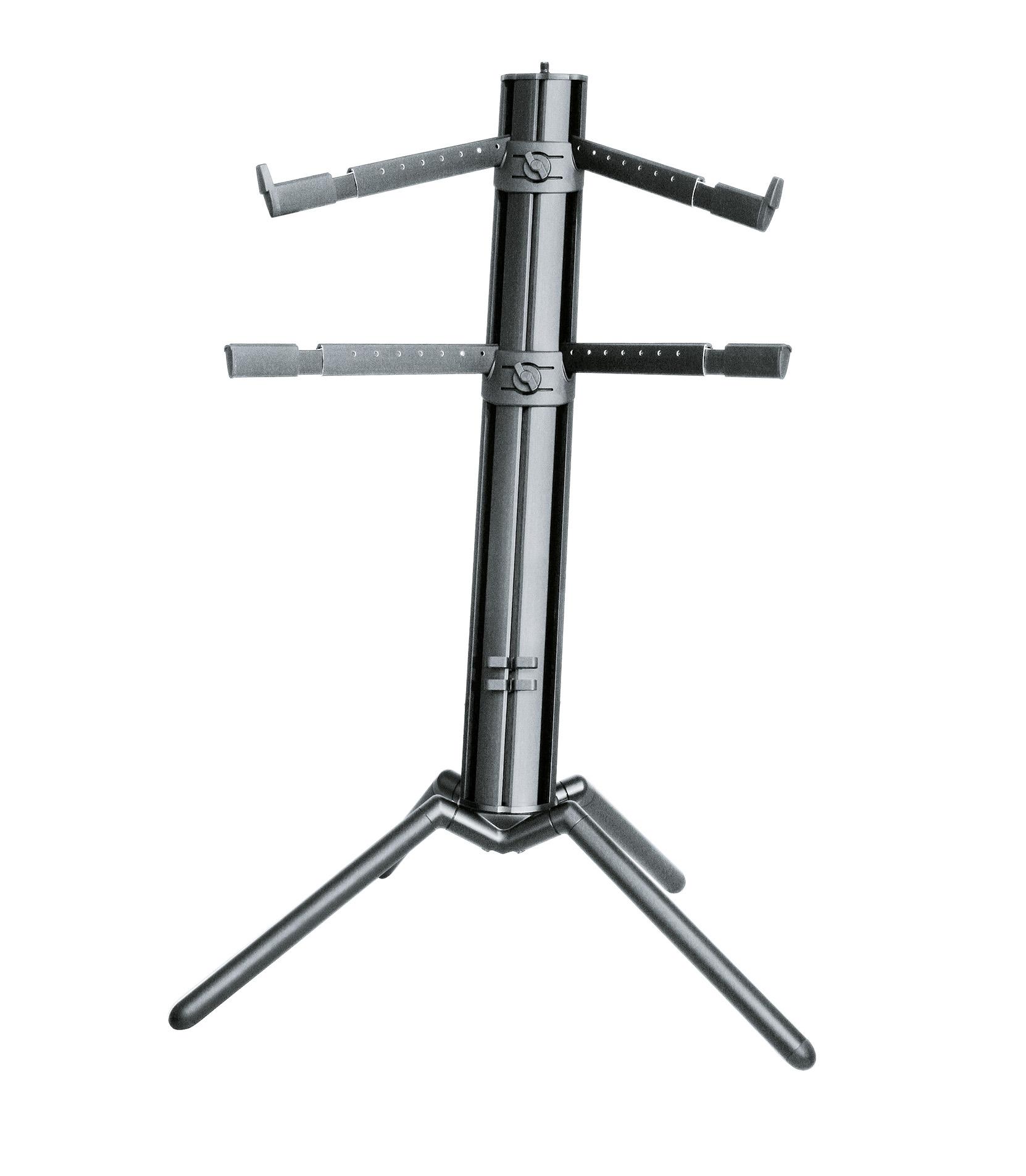 buy k&m 18860 000 35 keyboard stand spider problack
