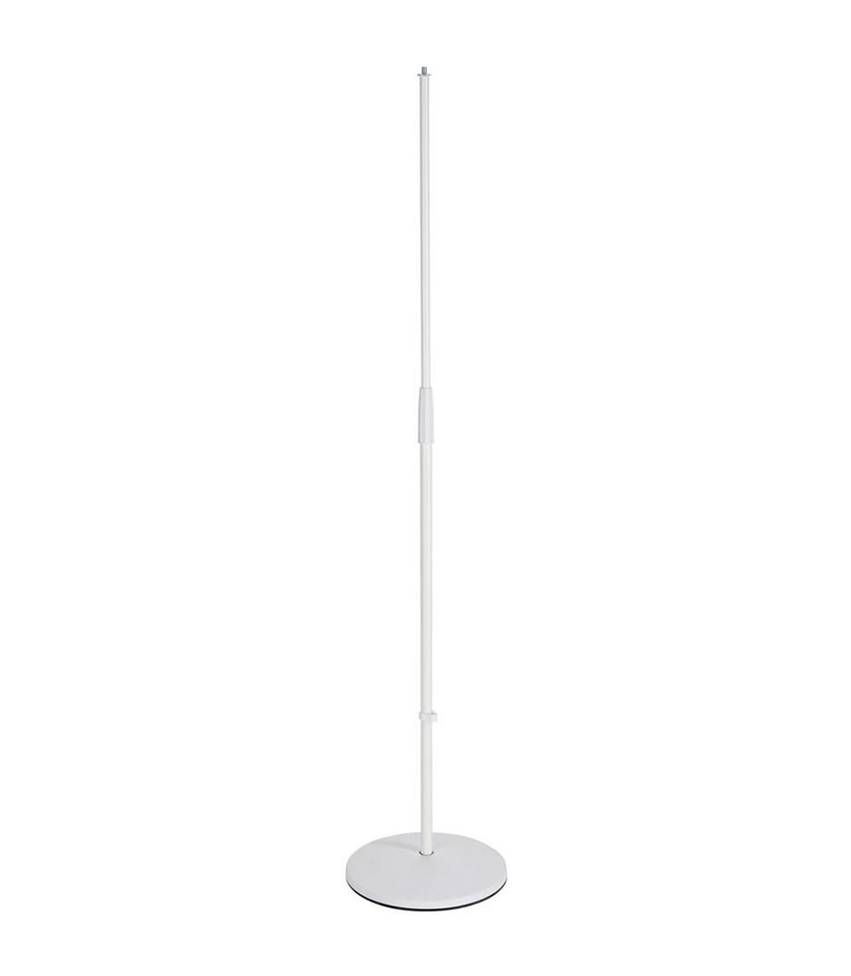 Buy K&M - 26010 500 76 Round base Mic stand White