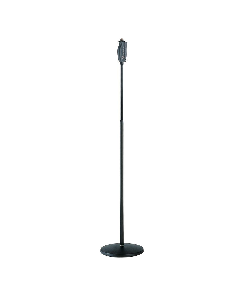 buy k&m 26085 500 55 one hand mic stand black