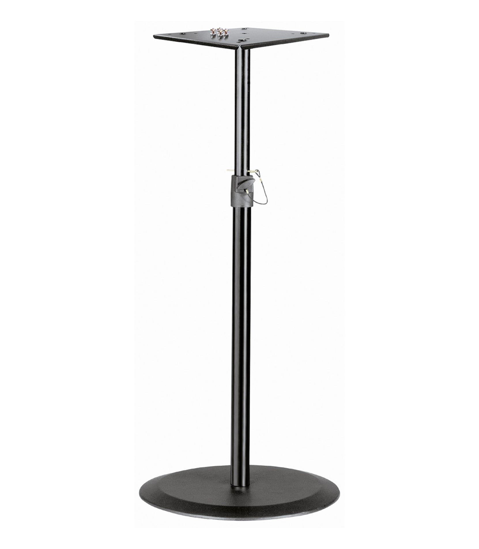 buy k&m 26740 000 55 steel monitor stand black