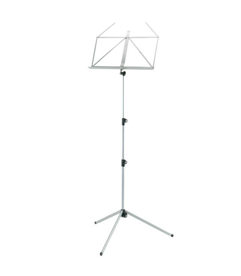 buy k&m 10010 000 78 music stand silver shadow color